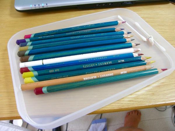 ついつい買っちゃう無印良品 - 無印良品 色鉛筆紙管入り・ハーフサイズ 36色・紙管ケース入りのレビュー