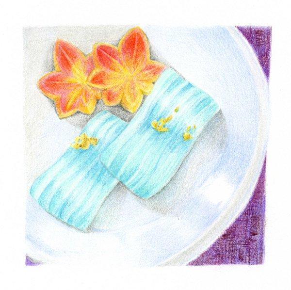 向月庵の干菓子