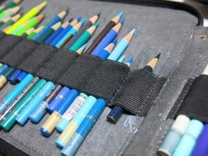 短い鉛筆1本でもホールド抜群