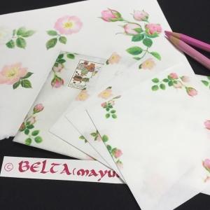 お花の封筒