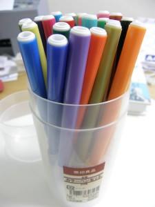 ひっくり返すと色を選びやすい