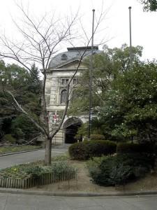 兵庫県公館 正面