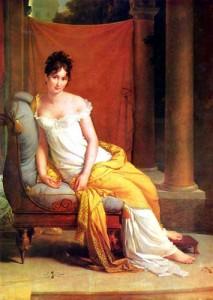 ジェラールの「レカミエ夫人の肖像」
