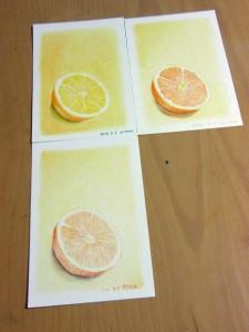 オレンジ できあがり♪