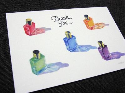 カラーセラピーポストカード