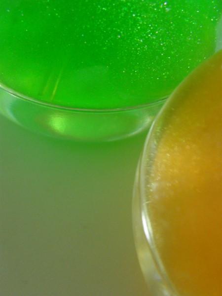 ラブカラーズ ゴールドとグリーン