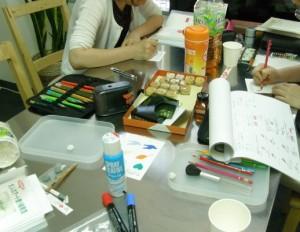 大人の色鉛筆 アート塗り絵 講師養成講座